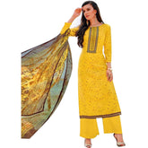 Ladyline Pure Lawn Cotton Printed & Embroidered Salwar Kameez Suit Indian Pakistani Suit Readymade