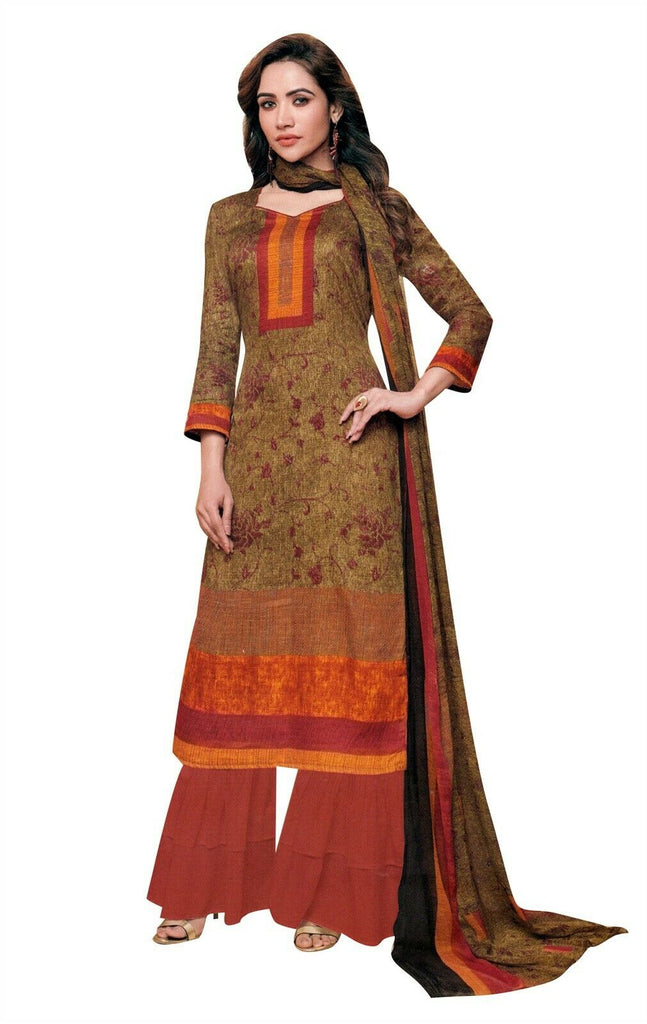 520912c31b Ladyline Soft Lawn Cotton Printed Salwar Kameez Casual Womens Indian D