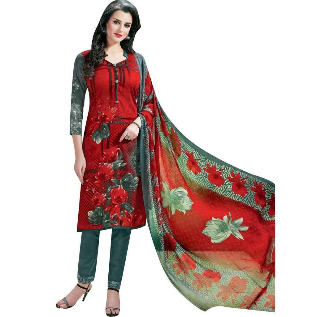 Ready Made Gorgeous Beautiful Printed Cotton Salwar Kameez Suit Indian Pakistani