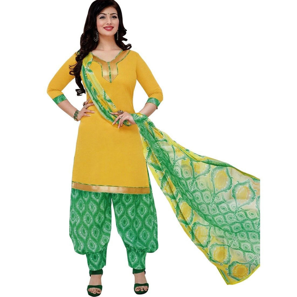 Ready to Wear Patiala Salwar Printed Cotton Salwar Kameez Suit