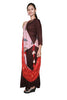 Ladyline Designer Long Rayon Kurti With Printed Dupatta Draper ,3/4 Sleeves