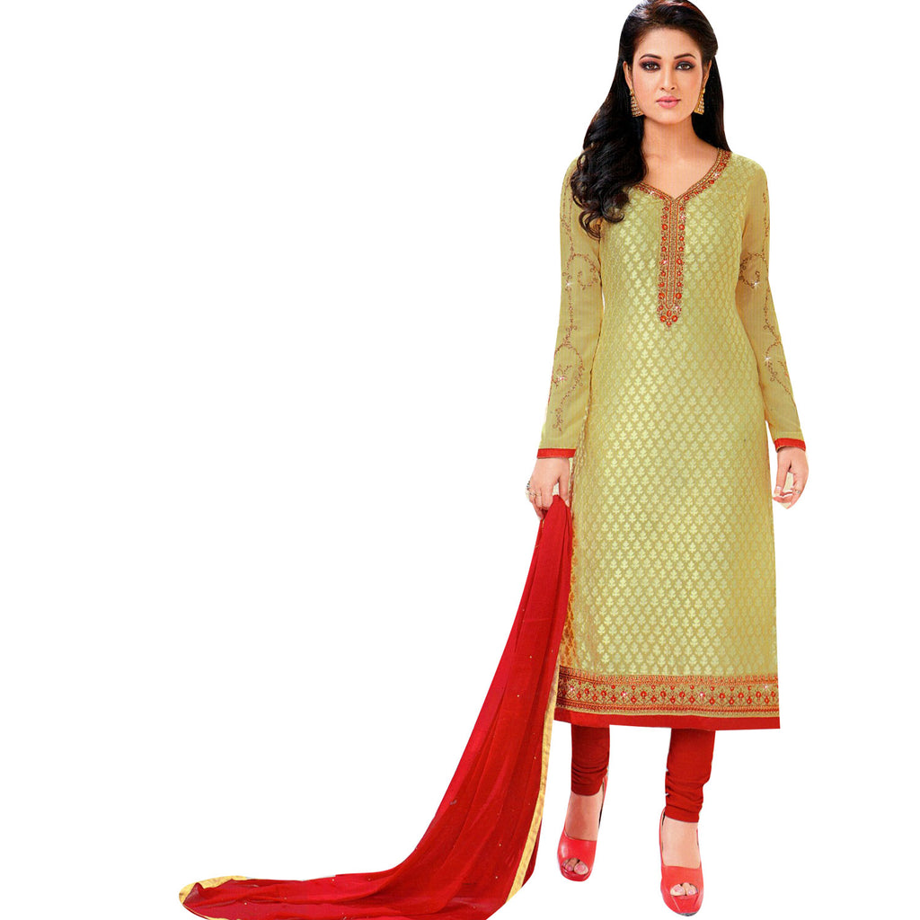 Womens Partywear Georgette Brasso Embroidered Salwar Kameez Formal Ready to wear Salwar Suit Indian Bollywood