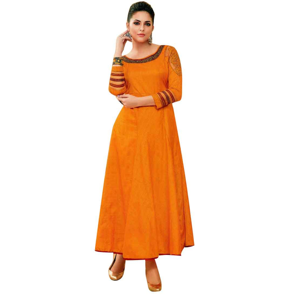 Designer Indian Stylish Long Kurti / Kurta/ Tunic/ Gown Partywear Bollywood Pakistani dress