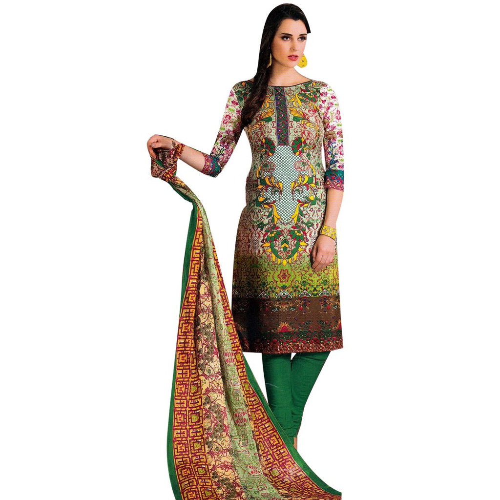 Designer Gorgeous Printed Ready to wear Cotton Salwar Kameez Suit