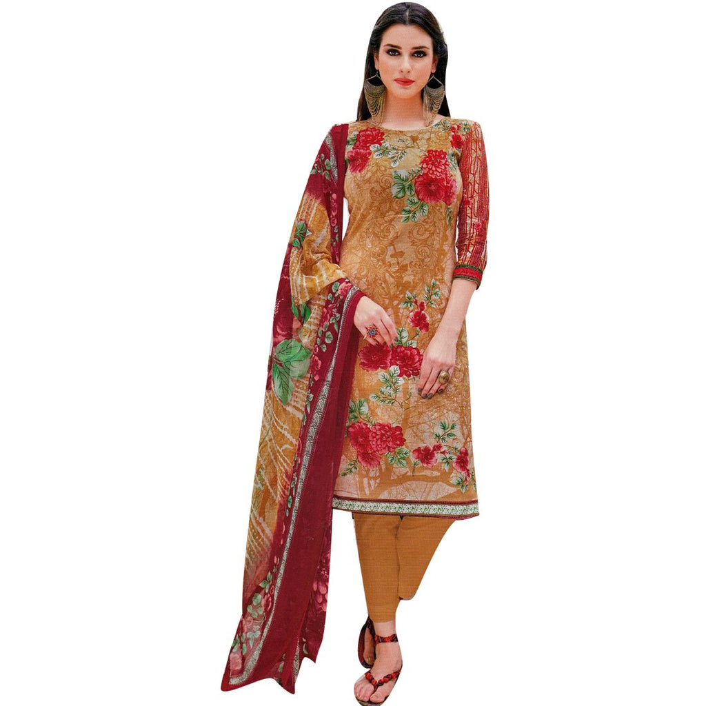 Ready to Wear Gorgeous Indian Printed Cotton Salwar Kameez Suit