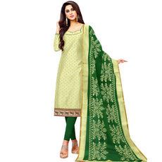 Ladyline Ready to Wear Silk Embroidered Salwar Kameez Fancy Dupatta Womens Indian Dress Stitched