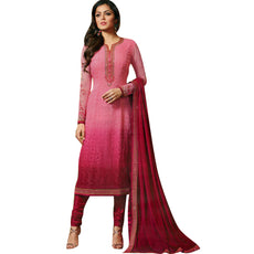 Ladyline Ready to wear Designer Partywear Salwar Kameez Chiffon Embroidered Stitched Salwar suit Indian Pakistani