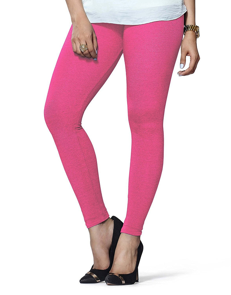 Light Pink Premium Soft Cotton Churidar Leggings