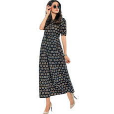 Ladyline Printed Cotton Long Kurti