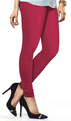 Rani Pink Premium Soft Cotton Churidar Leggings