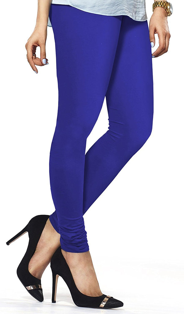 Royal Blue Premium Soft Cotton Churidar Leggings
