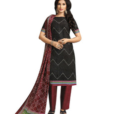 Elegant Ethnic Printed Handloom Rich Cotton Salwar Kameez