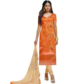 Ready Made Silk Embroidered Salwar Kameez Indian Bollywood