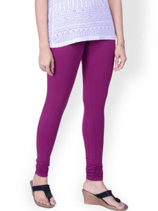 Violet Premium Soft Cotton Churidar Leggings