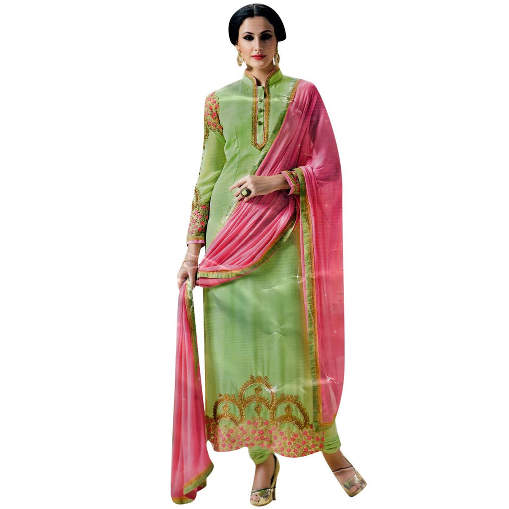 Designer Partywear Bollywood Georgette Embroidered Salwar Kameez