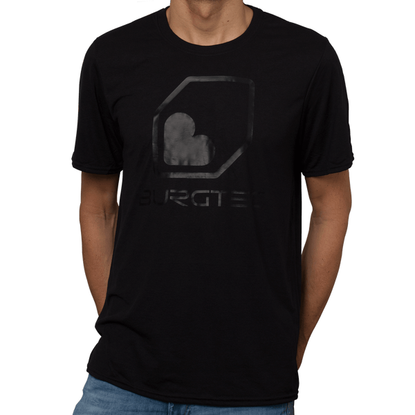 Black on Black Tech Tee