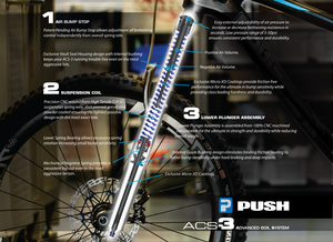 ACS3 Fork Coil Conversion Kit (Rockshox Lyrik RC2/RC/RCT3)