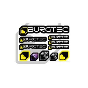 Burgtec Sticker Sheet