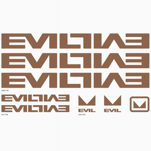 Evil Frame Decal Kit