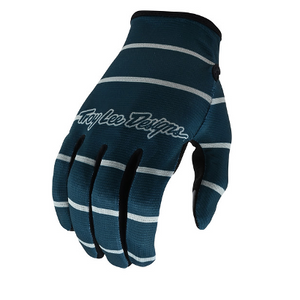 Flowline Glove Stripe Blue Gray