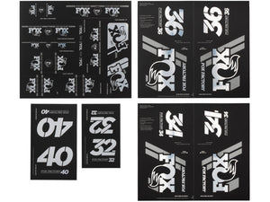 FOX Heritage Decal Kit (Forks & Shocks)