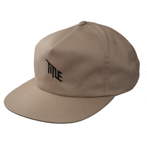 Khaki Unstructured Snap Back Hat