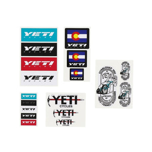 Yeti Sticker Pack