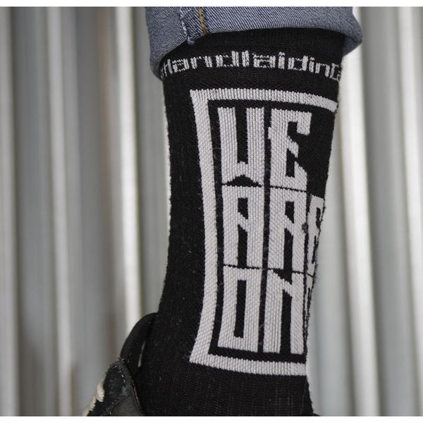 We Are One Riding Socks