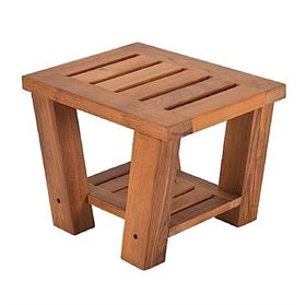Living Earth Crafts<BR>Teak Side Table