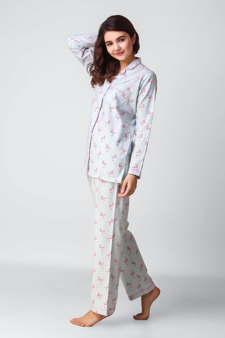 Flamingo Full Jammies Set
