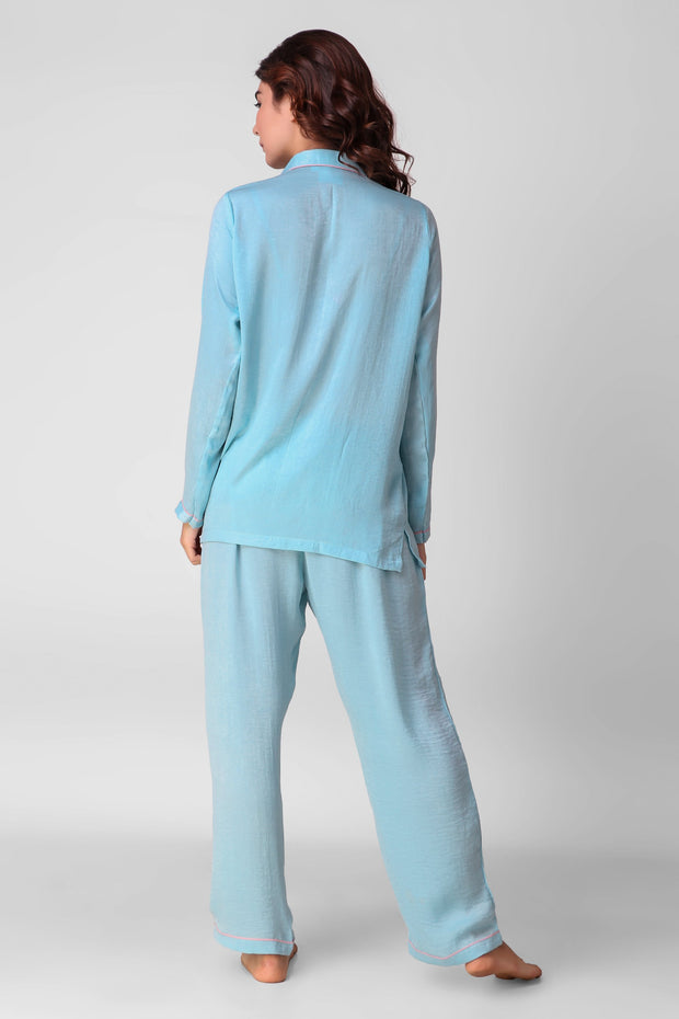 Paint It Blue Full Jammies Set