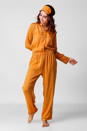 Mustard Full Jammies Set
