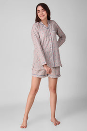 House Grey Shorts Set