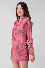 Rose Bloom Sleepshirt