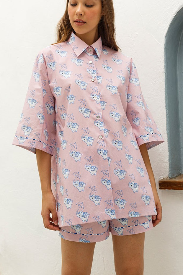 Coco Lounge Button Up Shirt