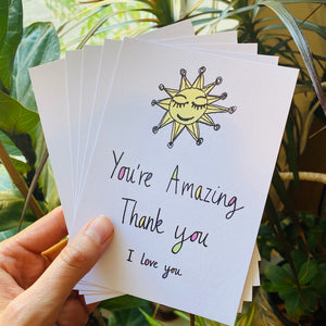 Thank You Postcard Set