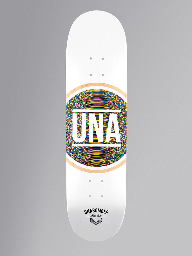 Unabomber John Bell 'Radial' Deck. 8.5''