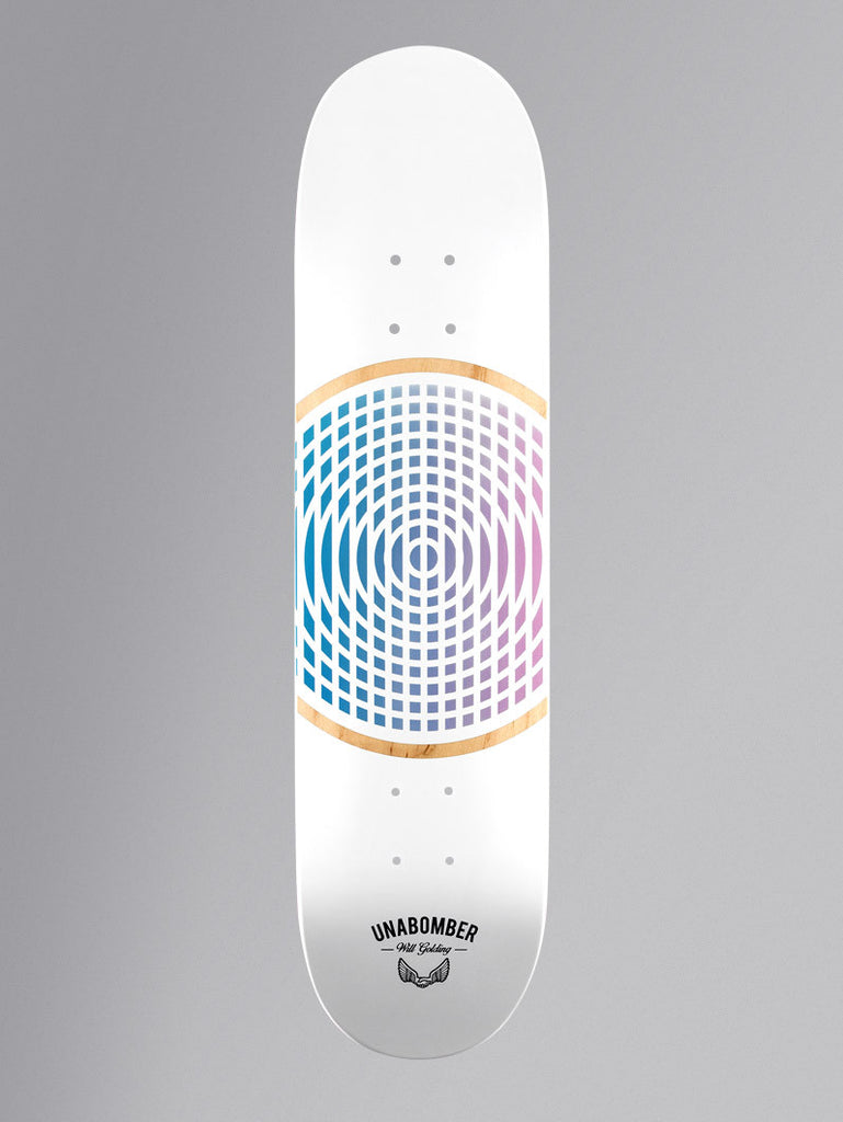 Unabomber Will Golding 'Form' Deck. 8''