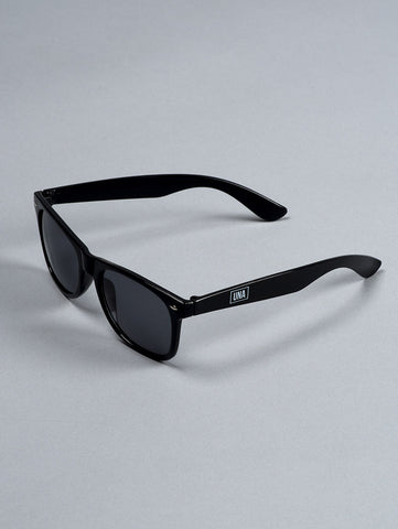 Unabomber 'Box' Sunglasses. Black.