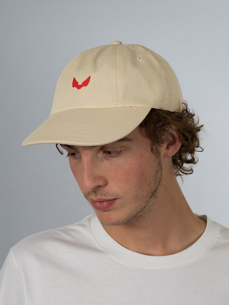 Unabomber 'Ralphy Wings' Cap. Natural.