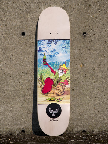 "Unabomber Will Golding 'Robin' Deck. 8.25""."