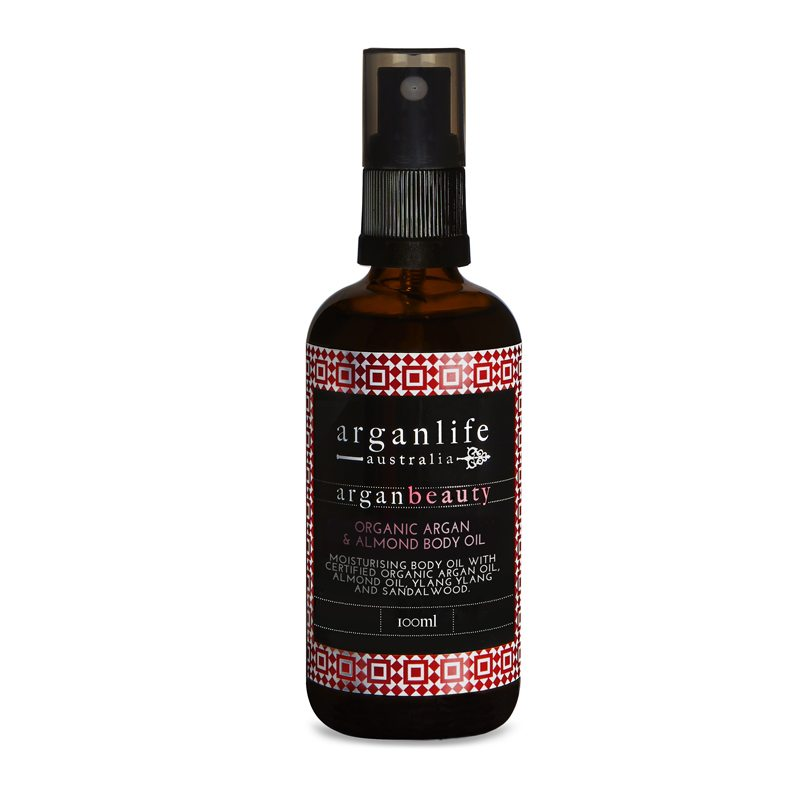 Argan and Almond Body Oil