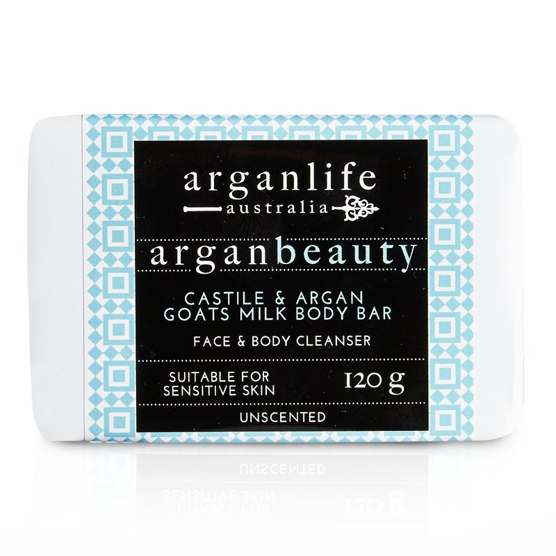 Castile and Argan Goats Milk Body Bar