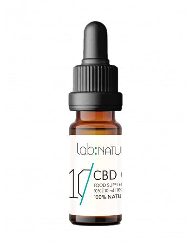 Buy Online Premium Quality Full Spectrum CBD 1000mg 10% CBD Oil Drops - Best holistic supplements shop - Lab:Nature