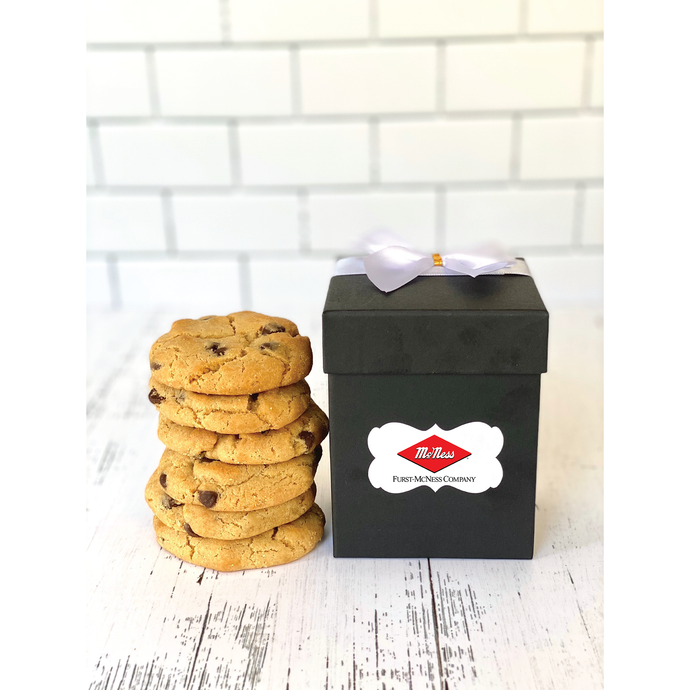 Artisanal - 6 Cookies in a Black Gift Box