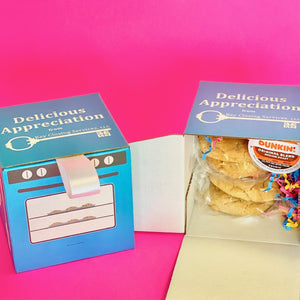Artisanal - 4 Cookies & 1 KCups in a Custom Box