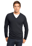 BOSS Black Cotton V-Neck Sweater