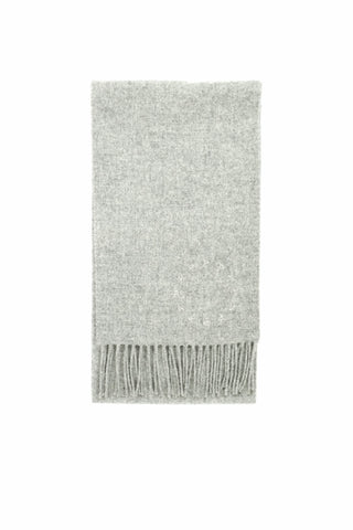 100% Scottish Lambswool Scarf [Grey]