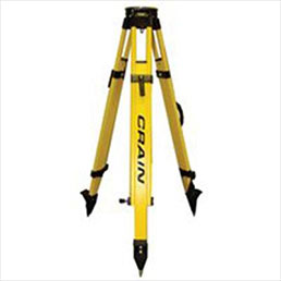 Best Accessories for Survey Equipment - Birchwood/Fibreglass Hybrid Tripod - Available at One Point Survey