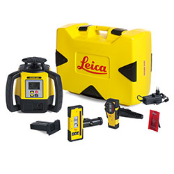 Survey equipment accessories including  batteries, cables, chargers, staffs and tripods.